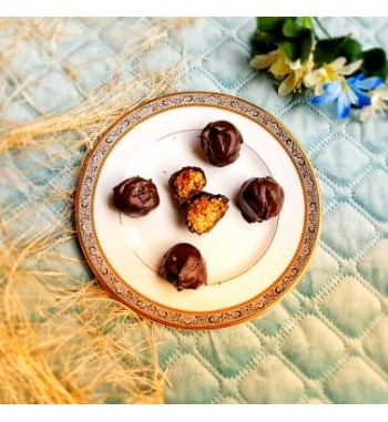 Chocolate Oats Ladoo