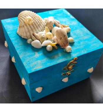 Aquatic Chocolate box- Blue