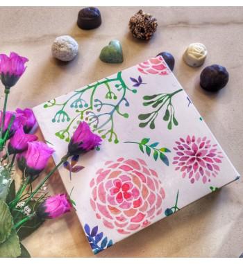 Floral Indulgence-9 Chocolates