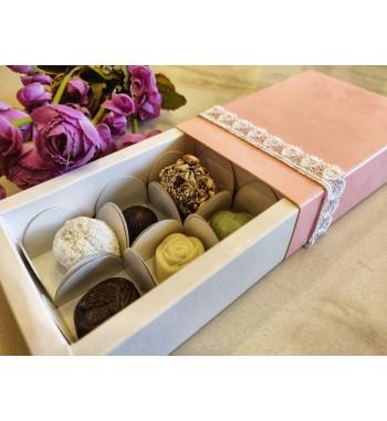 Classic Chocolate Box- Pink